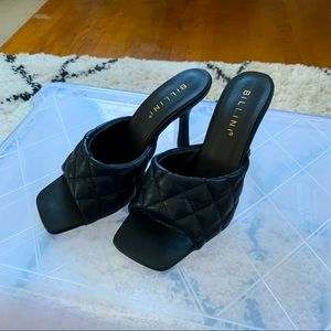 Billini Scarelette Black Heels BNIB